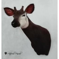 Okapi artificial de pecho