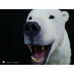 Oso polar artificial de pecho